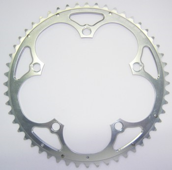 Plateau 7075 Campagnolo type ''A'' Argent exterieur STRONGLIGHT